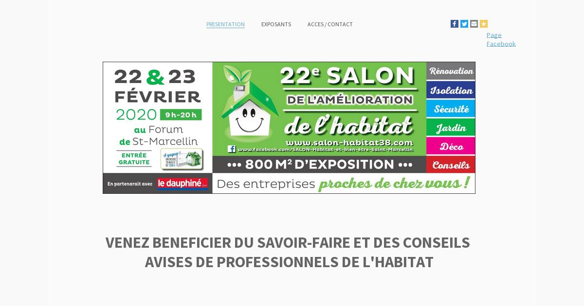 Salon de l 39 habitat de saint marcellin informations - Salon de l habitat caen ...